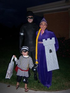 Cyborg Colin, Pirate Ren, & Rapunzel Jeannie