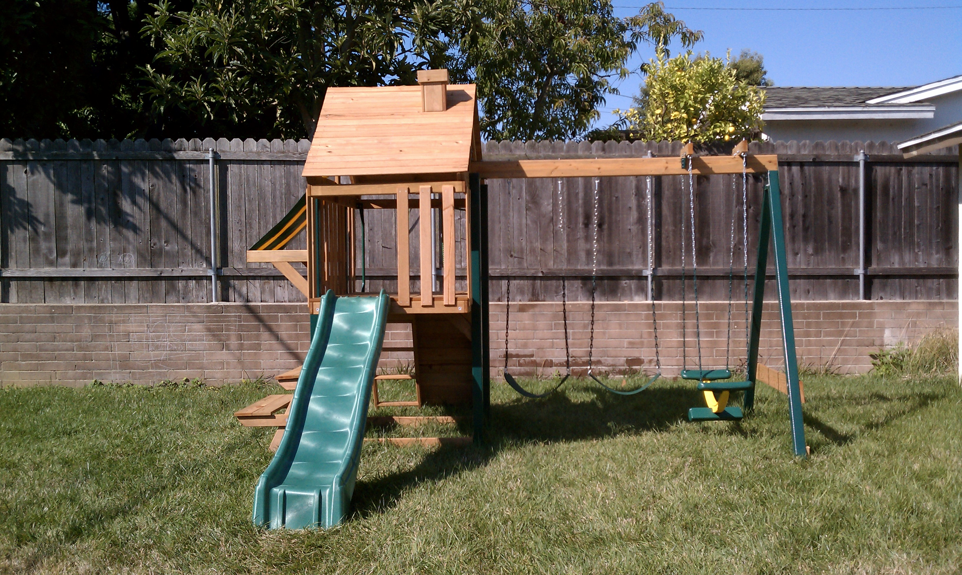 Backyard Playground Diy